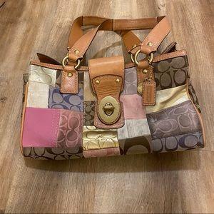 Coach Signature Collection Shoulder Bag